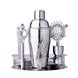 bar tools cocktail kit set boston shaker stainless steel wine set with stainless steel holder for sale home party bar tools
