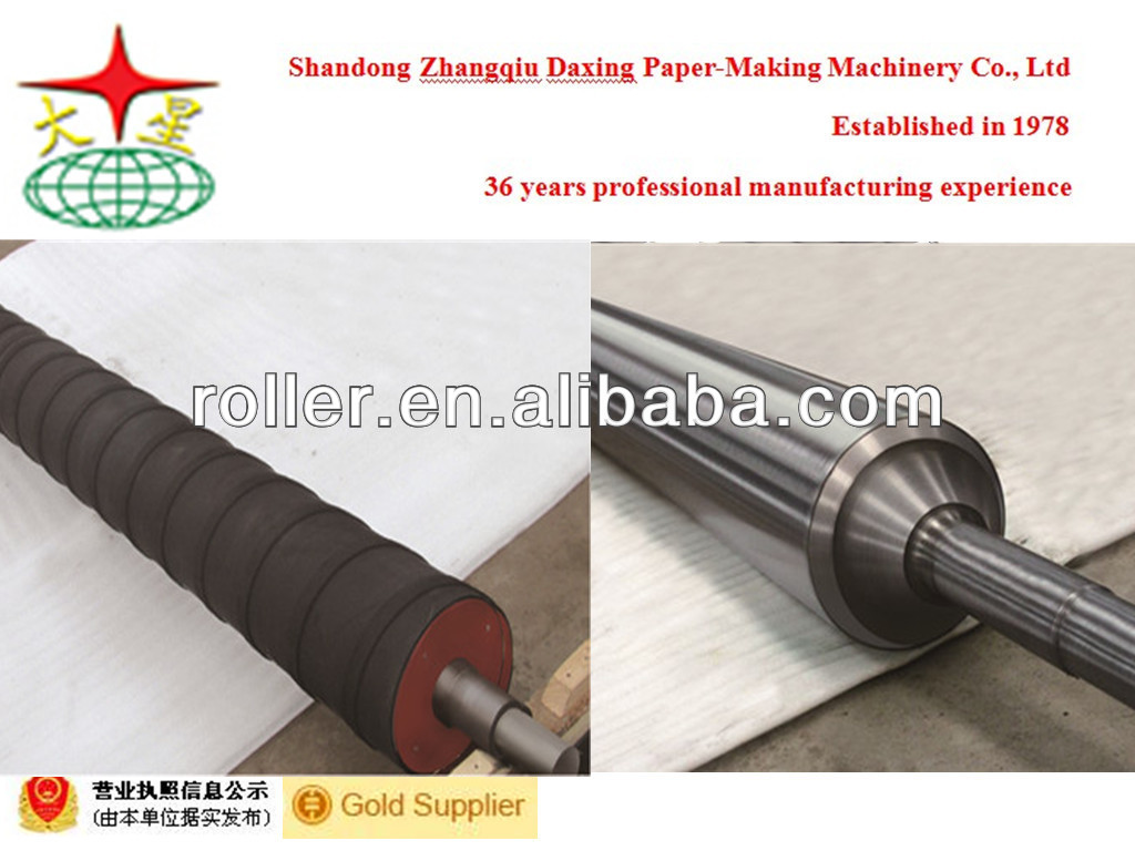 kraft paper machine spreader roll