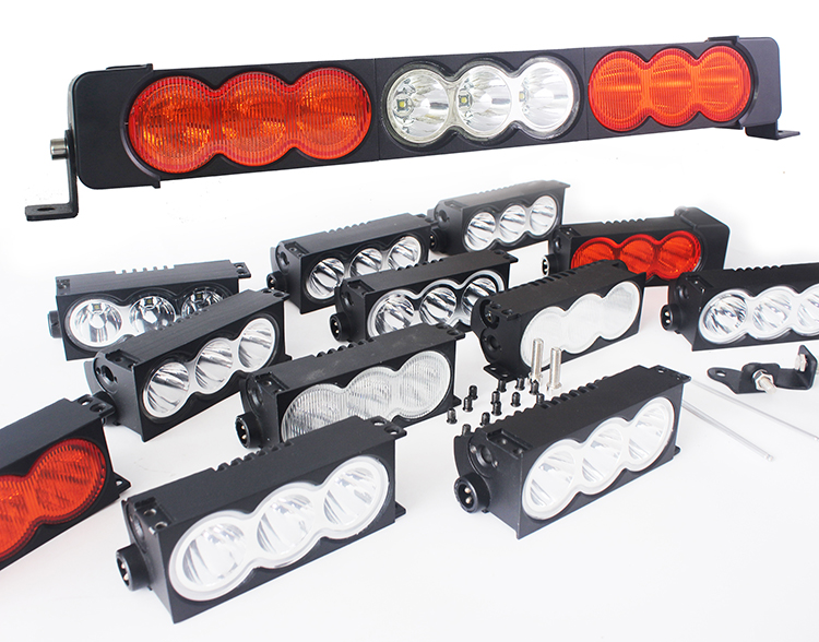 5 3inch Brightest Led Light Bar With Modular Diy System