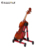 Musical instrument accessories portable a frame guitar stand with low price