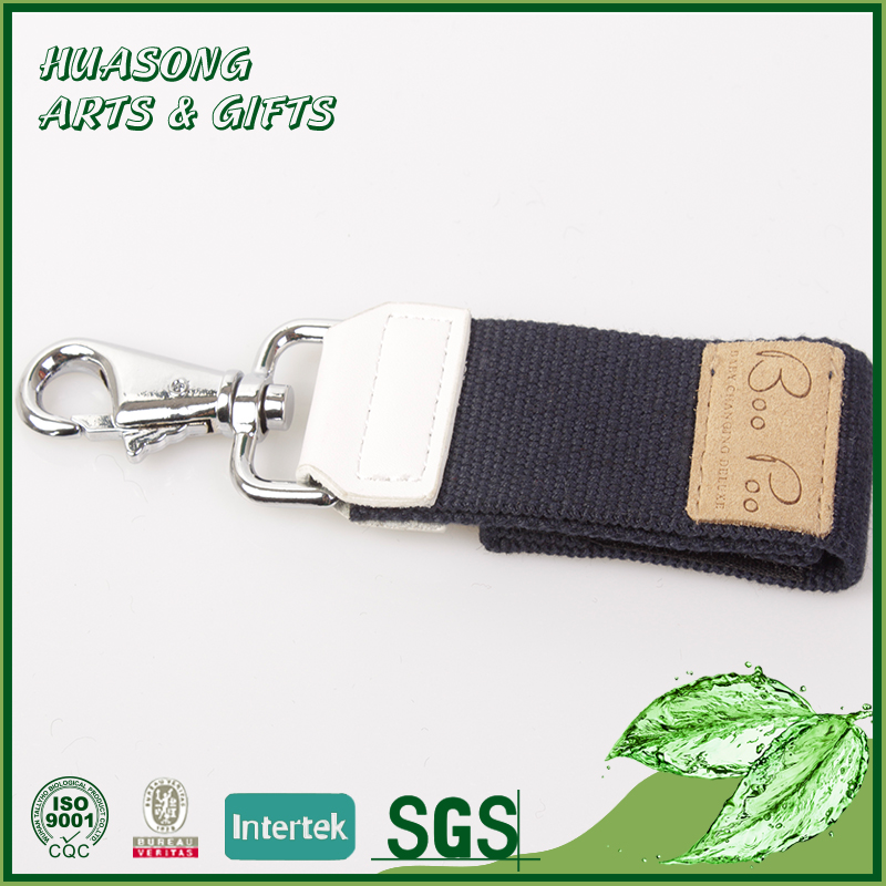Free printed polyester breakaway short strap lanyard for keys