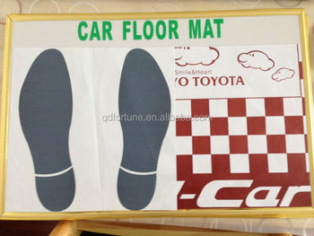 Paper Car Floor Mats For Cars Automobile Disposable Paper