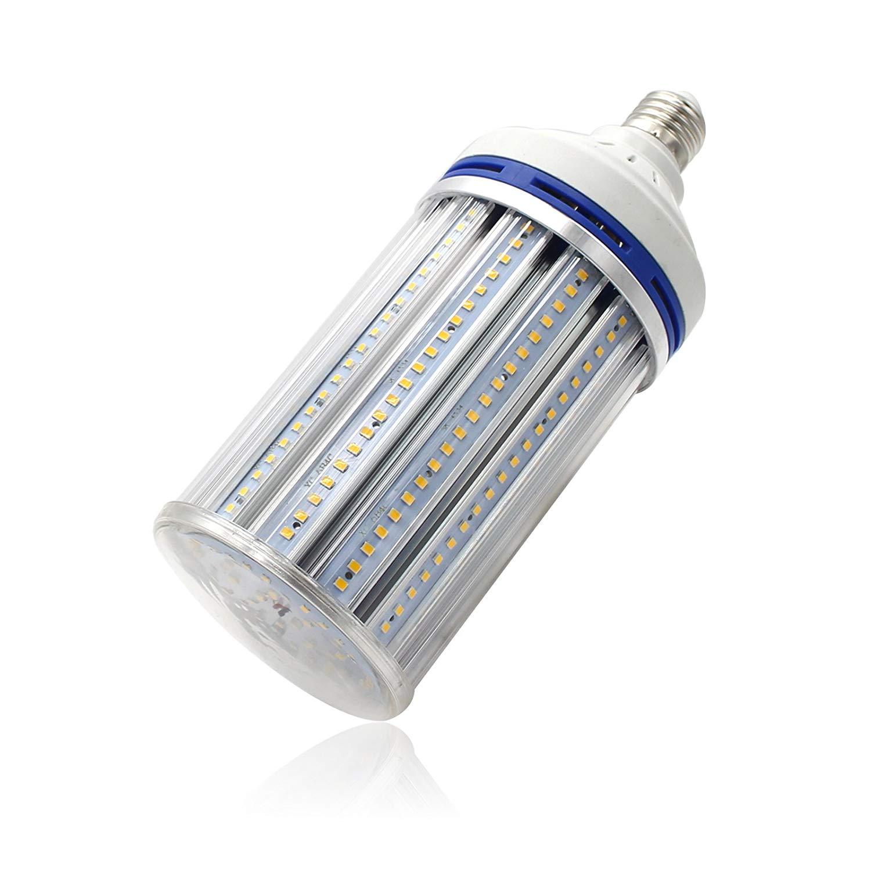 Mininono High Power LED Corn Bulbs E26/E27 Medium Screw Base 60W 5500LM Ultra Bright LED Light Bulb, 3000K,Warm White (Soft White), Garage Factory Warehouse Barn Backyard,Super Bright Light Fixtures