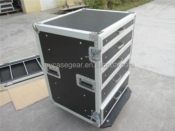 Case Utility Production Tech 7 Drawer Plastic Flight Case