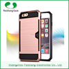 China phone case manufacturer wholesale card slot design smart phone case for IPhone 6 6s 6plus