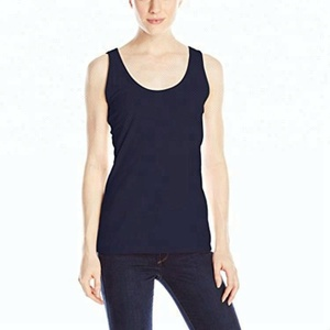 100 cotton custom printed plain compression wholesale women tank top
