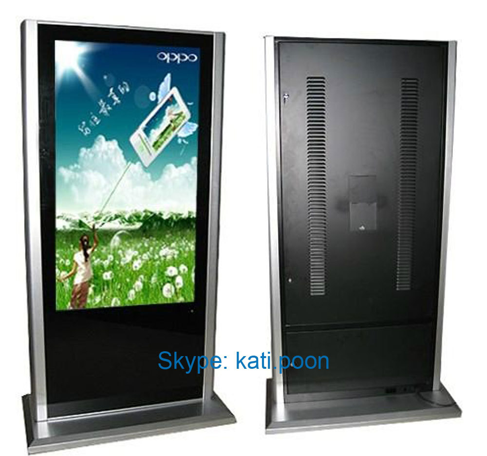 "55"" Acrylic HD TFT Indoor LCD Advertising Display"