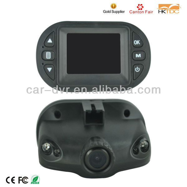 Factory OEM 720P super mini hd car dvr/car video recorder/car black box dvr