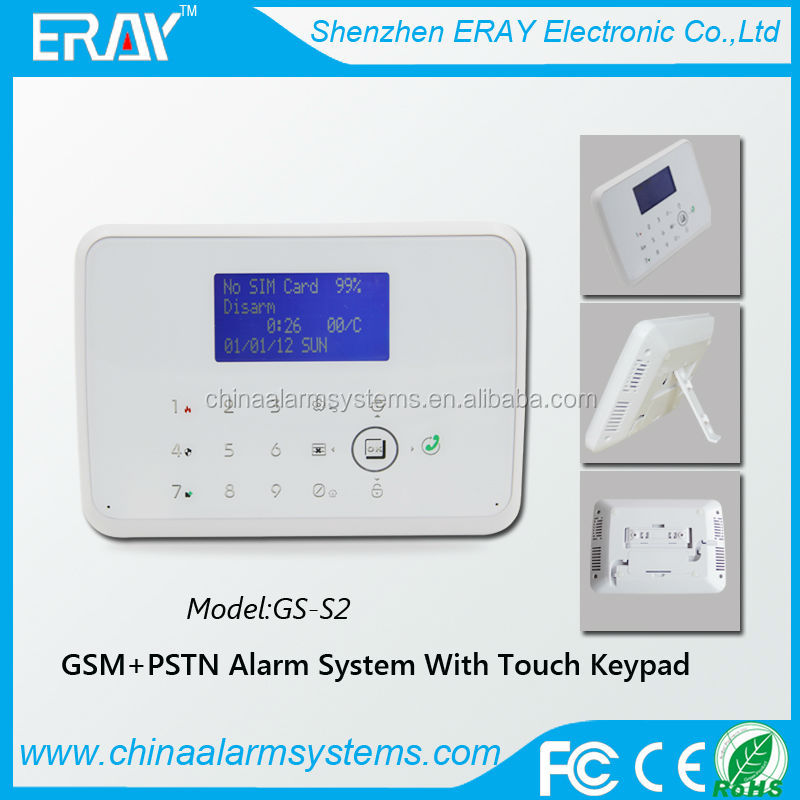 contact id gsm home alarm system with relay output & Apps