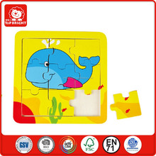 educational toys custom wooden jigsaw puzzle