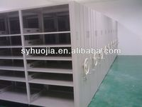 Office Movable Rolling Vertical Filing Cabinet system with high files storage capacity
