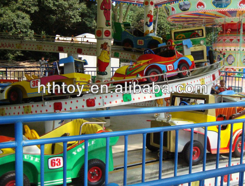 amusing and exciting car ride amusement park rides