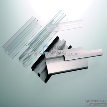 a75366aafd6 Polycarbonate Profiles Connector for pc sheet H U profile and aluminum  accessory