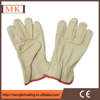 Safety work pig grain leather car safety gloves
