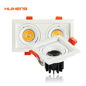 HH30 Ceiling Recessed Dimming Remote Panel Mounted Indoor Square COB Concealed LED Ceiling Light