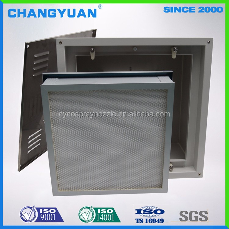 Cleanliness class 100 surgery room Hepa box, ceilling air purification housing