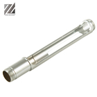 China manufacturer provide OEM aluminum alloy turned machined parts service for 7075 aluminum shaft with surface anodized
