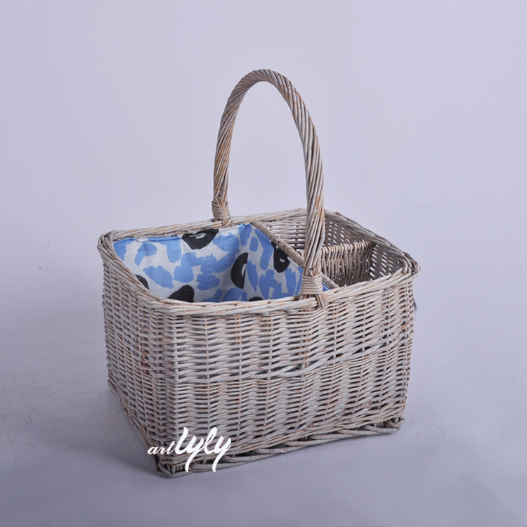 Factory Willow Wicker 2 Person Picnic Basket