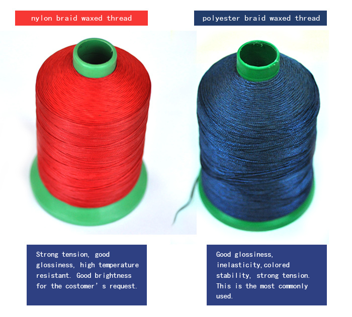 Different Colors Nylon Bonded Sewing Thread