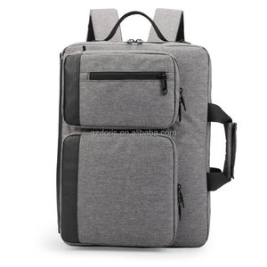 Macbook laptop men's briefcase bag backpack with Multi-functional shoulders bags