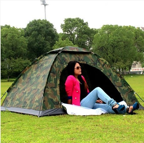 Factory wholesale 2 person camping tent field camouflage tent