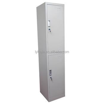 Steel Clothes Cabinet 2 Tires Lateral Drawer Godrej Metal Locker ...