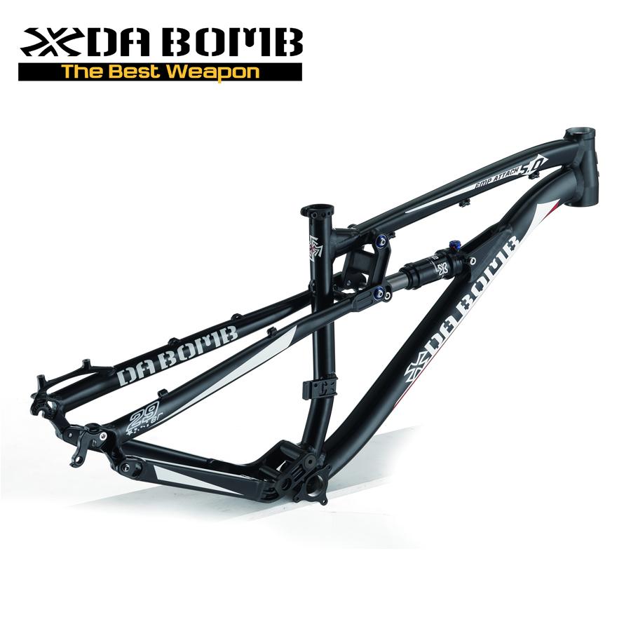 DABOMB 2021 Enduro 29er Quadro de Bicicleta de Suspensão