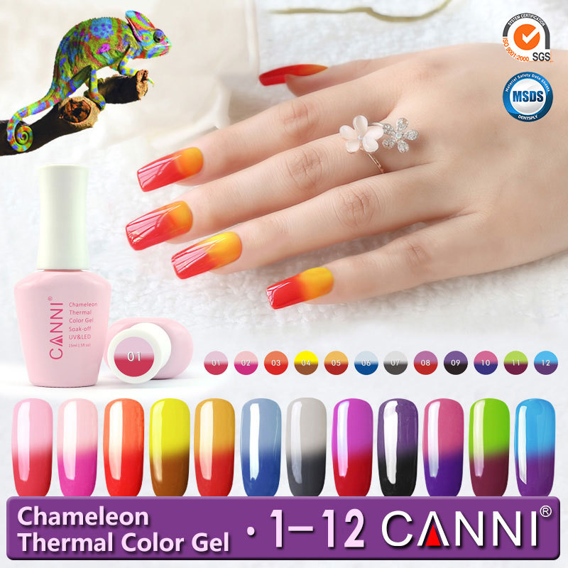Temperature Change Uv Color Gel #50423w Canni Chameleon Thermal ...