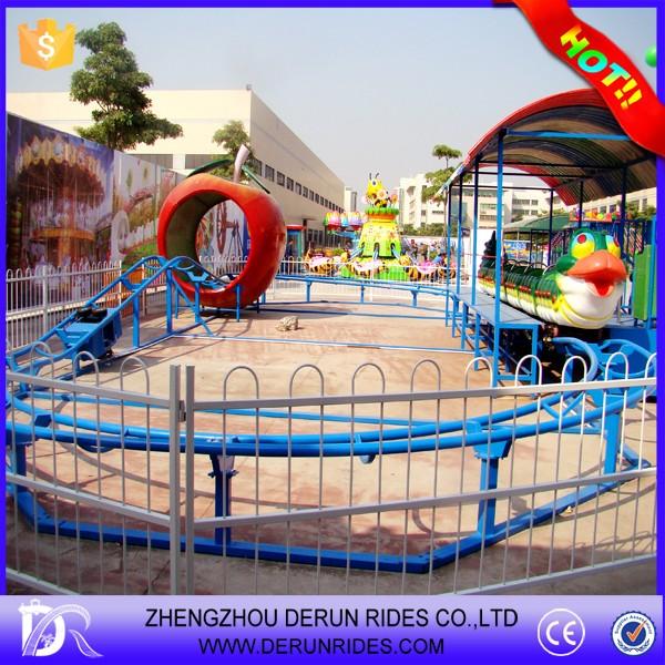 China Kiddie Rides Backyard Mini Cheap Roller Coaster For