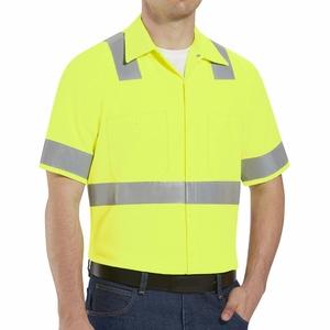 Hi-Visibility Hi-Visibility Short Sleeve Shirt 360 visibility safety vest