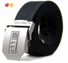 100% Cotton Canvas Belt With Alloy buckle