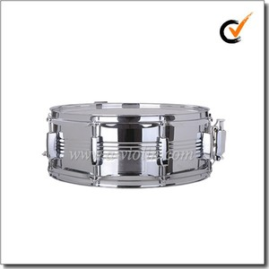 Quality Professional Steel shell Snare Drum (DSET-1057)