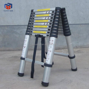 2.6m/3.2m/3.8m/4.4m EN131-6 telescopic 6m aluminum ladder