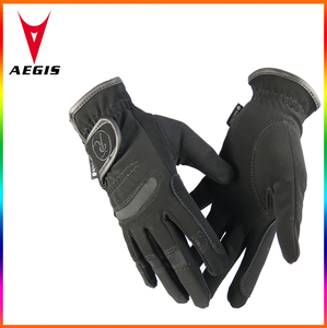 2016 durable horse riding gloves comfortable with breathable material