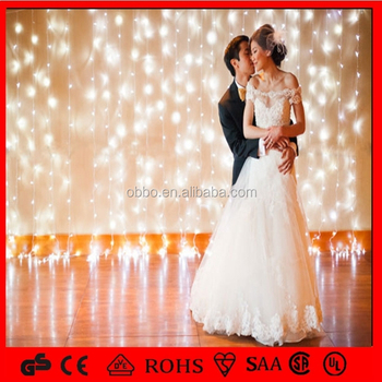 Warm White Curtain Light For The Background Of Taking Aesthetic Wedding Photographs