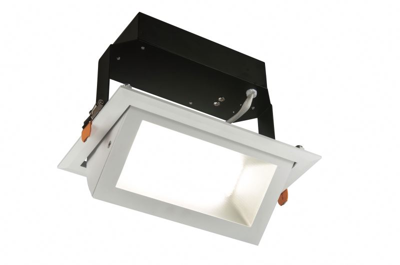 Factory Sale China Factory black square led downlight from manufacturer