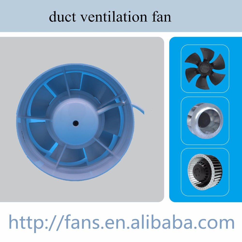 Inline Duct Fans Tunnel Ventilation Fan Pipe-Type Exhaust Fan