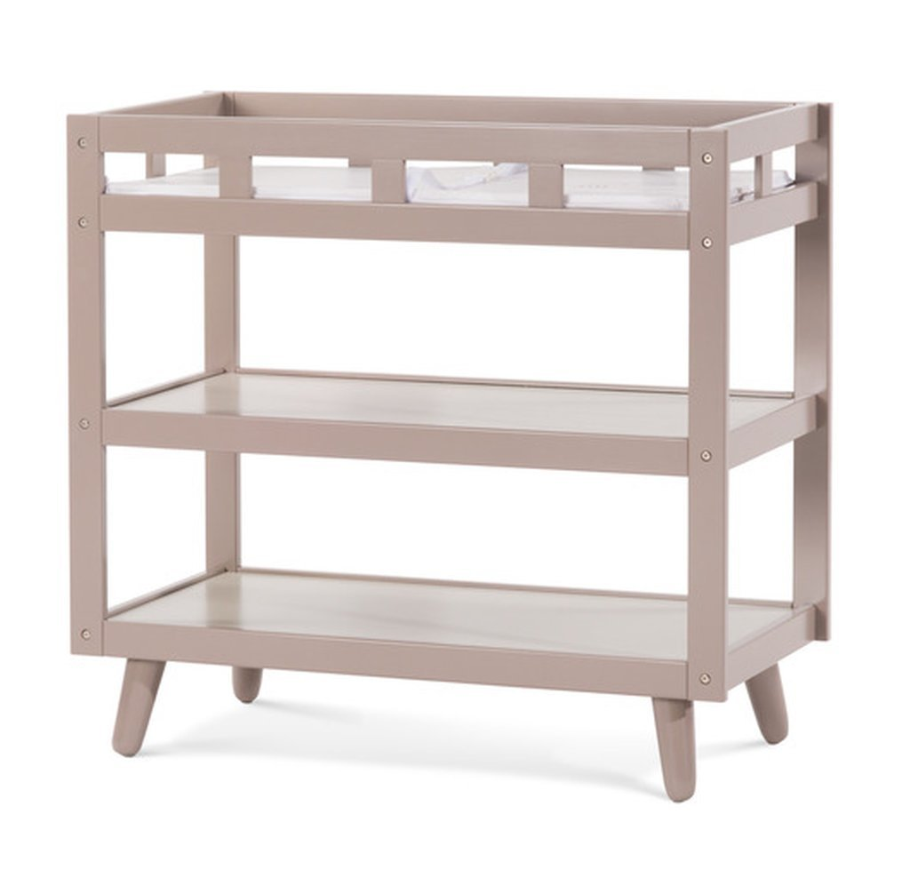 Get Quotations · Wooden Dressing Table, Baby Furniture, Features A Security  Strap And Buckle, Changing Tables