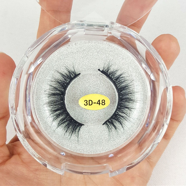 Beautier Mink False Eyelash Extension Prime Silk Eyelash ผู้ผลิต 3D Mink Eyelashes