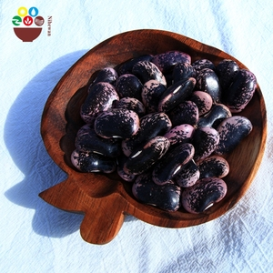 2017 new crop Dried large black speckled kidney bean for sale