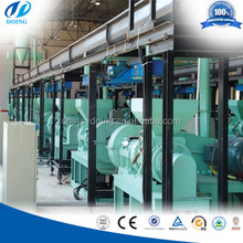 Tire cutting machine/Rubber powder processing line/waste recycle system