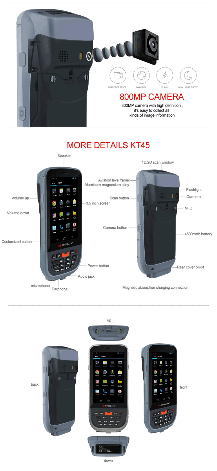 Cheap Price Of Android Rfid Reader Scanner For Long Range Card