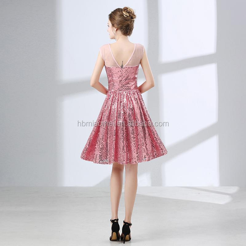 2018 Nuevo Diseño Vestido De Novia Dulce Corazón Señora Cena Vestido ...