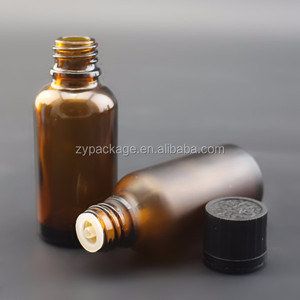 5ml 10ml glass amber essential oil 30 ml glass dropper bottle for aroma with child-proof cap