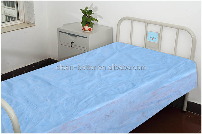 Health medical high quality disposable bad sheet set supply