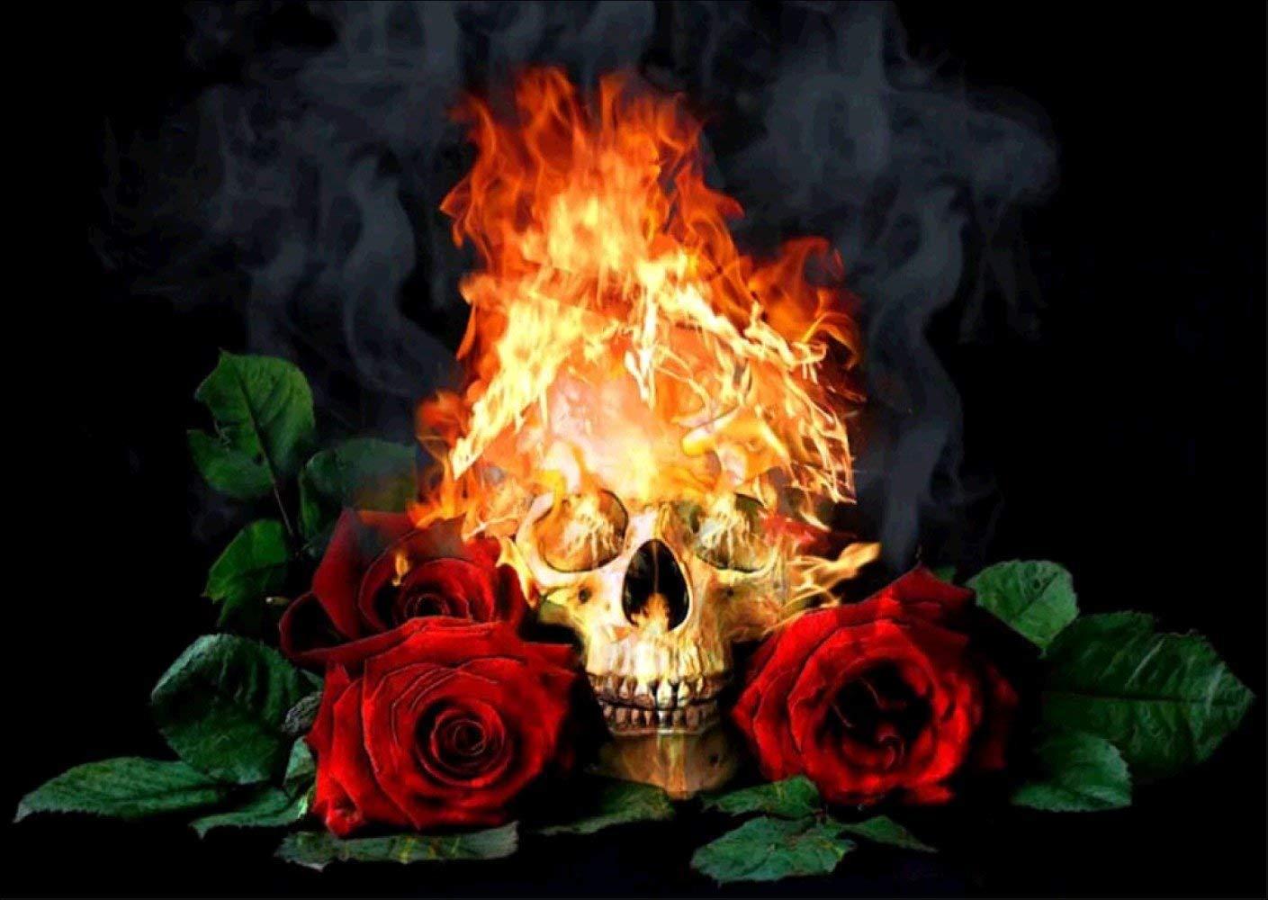 Открытки пламя