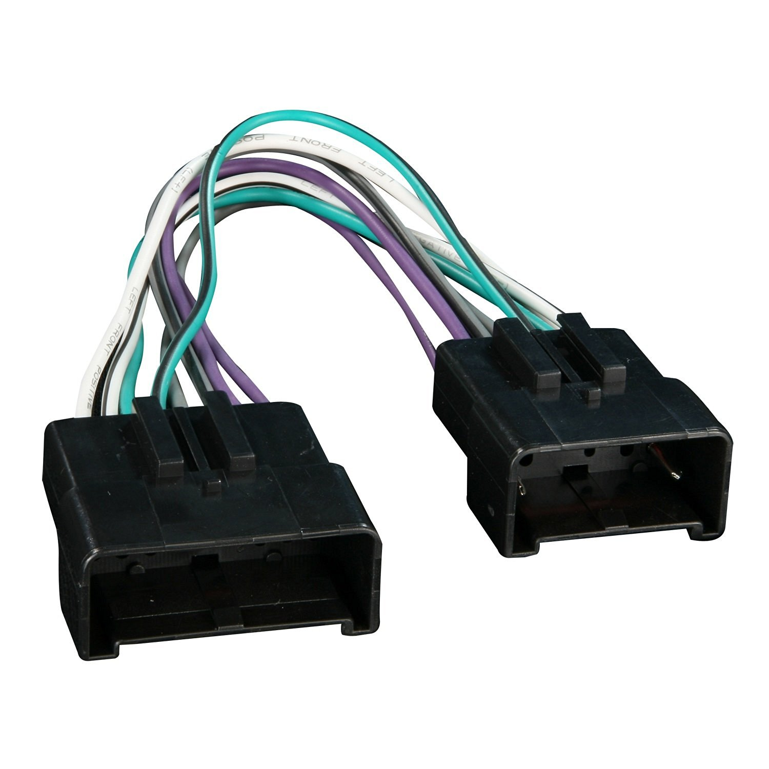 get quotations · metra 70-5513 radio wiring harness for ford amplifier  eliminator plug