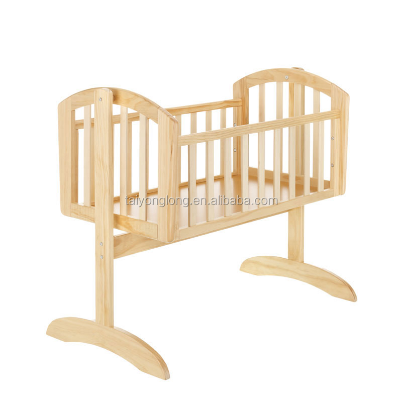 New Zealand Pine Wood Swing Baby Cradle baby Crib baby Cot Tyl-1521 ... b5cfa4ba6