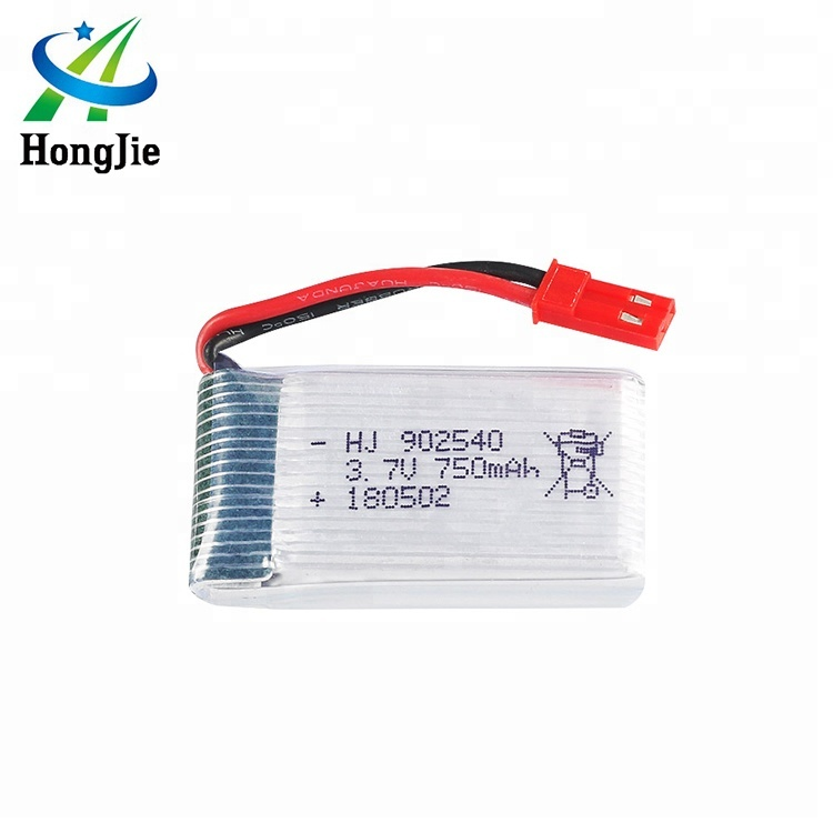 HJ High Capacity Li-ion Ultra Thin <strong>Battery</strong> 902540 3.7V 750mAh 25C Lipo <strong>Battery</strong> for RC Drone X400-<strong>V2</strong> X500 X300C X800