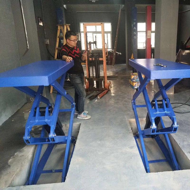 China Ponte Sollevatore Auto 220v Scissor Lift Table Mini Scissor